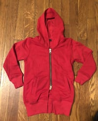 New! Kids red hoodie size 2 paid $18 Washington, 20002