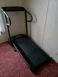 black and gray automatic treadmill Falling Waters, 25419