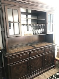 Beautiful back bar from Haverty Furniture Washington, 20008