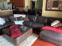 Leather sectional couch Land O Lakes, 34637