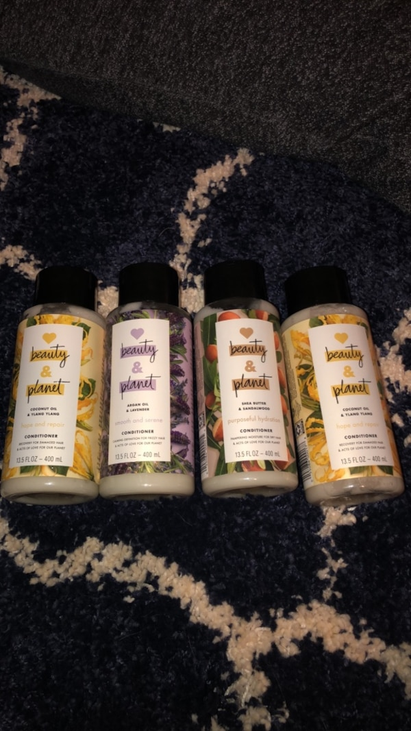 Four Beauty and Planet conditioners 304727d5-6ab3-4690-862f-b16b1712be68