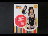 NEW!!  Jolly Jumper Cuddle Carrier, Black
