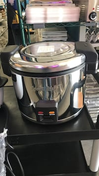 30 cups rice cooker + warmer s/s
