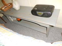 Pine Slate Blue Stained Bench Alexandria, 22306