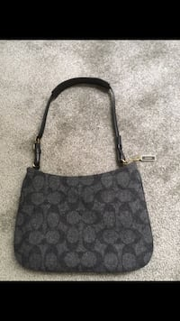 Black and gray coach shoulder bag Arlington, 22206
