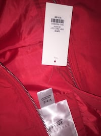 Brand new cropped red jacket Surrey, V4N