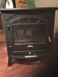 Black infrared fireplace space heater Gaithersburg, 20879