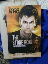 The stone rose, Firefly and coloring book.       All by DOCTOR WHO