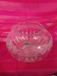 Violetta 24% hand cut Polish lead crystal  bowl Summerville, 29485