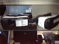 two white and black Samsung Gear VR with box Town 'n' Country