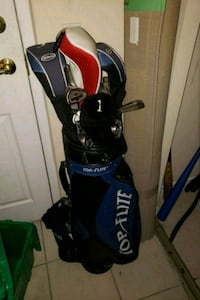 Top flight golf bag and clubs  Kitchener, N2H 6T7