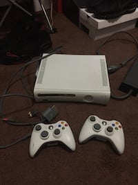 White xbox 360 console with controllers New Bedford, 02740
