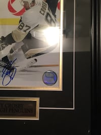 Sidney Crosby signed and gallery framed photo Vaughan, L6A 2M6