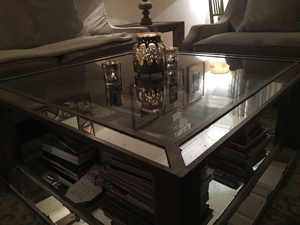 Used Z Gallerie Pascal Coffee Table Originally For Sale In - Pascual coffee table