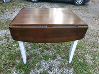Wood dropleaf table!...very nice, good deal Thurmont, 21788