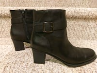 $35 Brand New Women's Size 7 Black Leather Boot Woodbridge, 22193