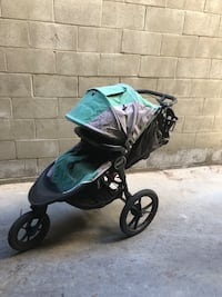 black and green jogging stroller Glendale
