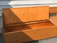 Solid wood great for storage kids toys or shoe box  Calgary, T3G