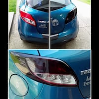Taillight tint installation