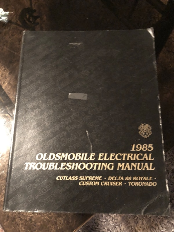 1985 Oldsmobile Electrical Troubleshooting Manual
