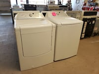 whirlpool cabrio washer and Gas dryer set 421 mi