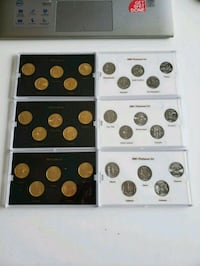 1999- 2003 Gold & Planitum Plated State US Quarter Calgary, T2R