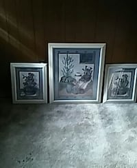 Wall pic decor Southwestern Trio