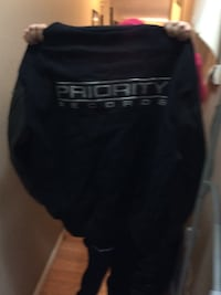 black Priority Records jacket