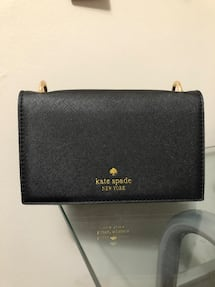 Kate Spade Black Saffiano Leather Purse