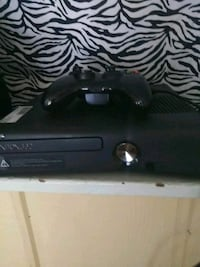 black Xbox One game console