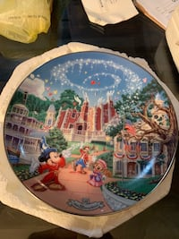 Disney world 25th anniversary plates 273 mi