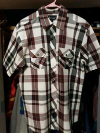 white, black, and red plaid sport shirt Muscoy, 92407