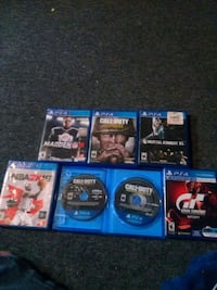 assorted Sony PS4 game cases City of Orange, 07050