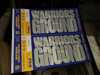 GS Warriors vs Philadelphia 76ers March 7th @ 5:30 pm