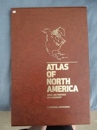 NatGeo Atlas of North America - vintage and classic maps Knoxville
