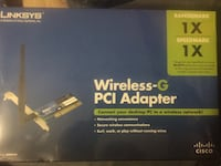 Wireless PCI adapter, Linksys brand. NEW!!! Dover, 19904