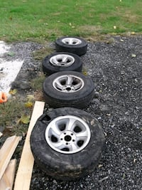 Rims for chevy s10  Hagerstown