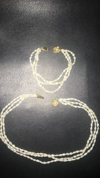 Women's pearl jewelry set Rosser