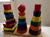 Wooden Stacking toys Markham, L6C