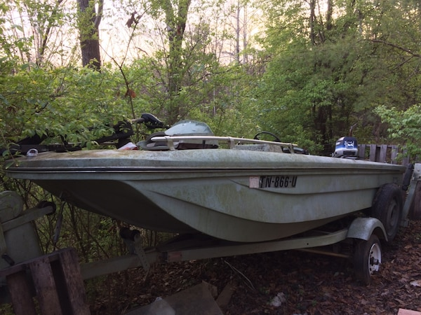 Used Fishing Boats For Sale >> Used 74 Thundercraft Fishing Boat For Sale In Knoxville Letgo