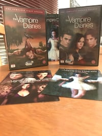 The Vampire Diaries sesong 1 og 2 6160 km