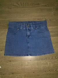 blue denim denim mini skirt (medium) Regina, S4S 4G2