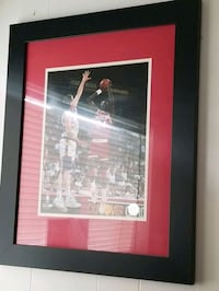 Hakeem framed picture Houston Rockets Houston
