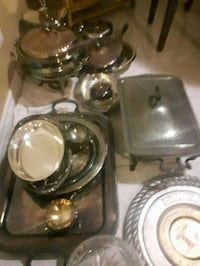 stainless steel bowl and plate Toronto, M3M 1T4