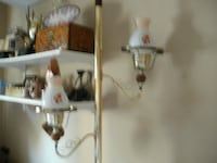 Antique pole light