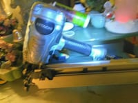 blue and black corded power tool 3736 km