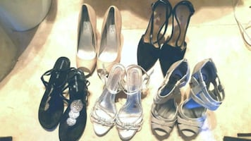 Lot of women's shoes