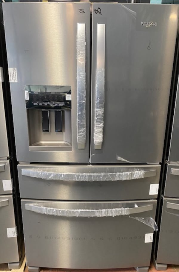 New whirlpool stainless steel french door refrigerator 10% off 2ca10cfc-df48-482a-a22f-e486b6e95b50