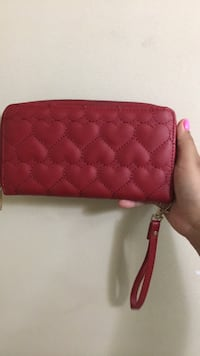 red leather quilted long wallet Santa Ana, 92704