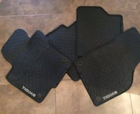two black car mats with two black car mats 585 km